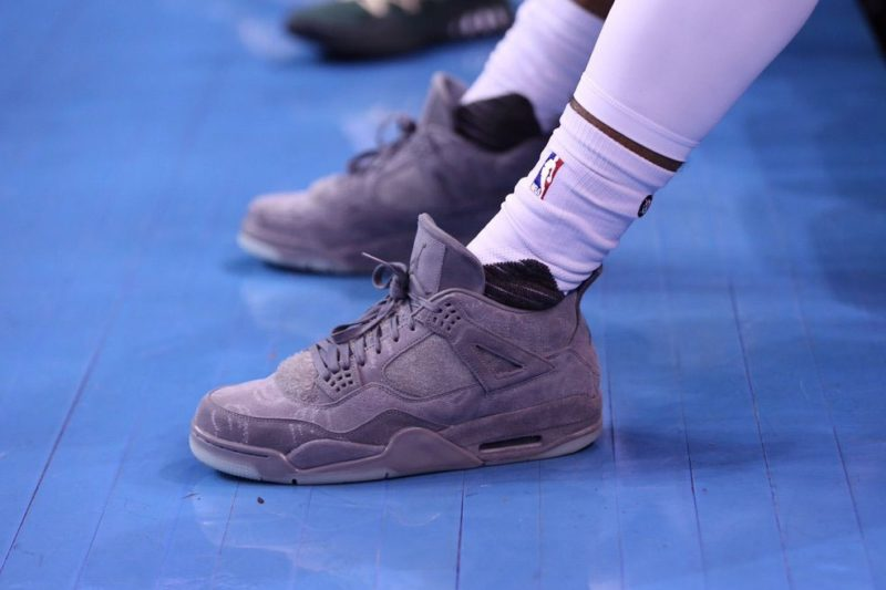 kaws air jordan 4 nba