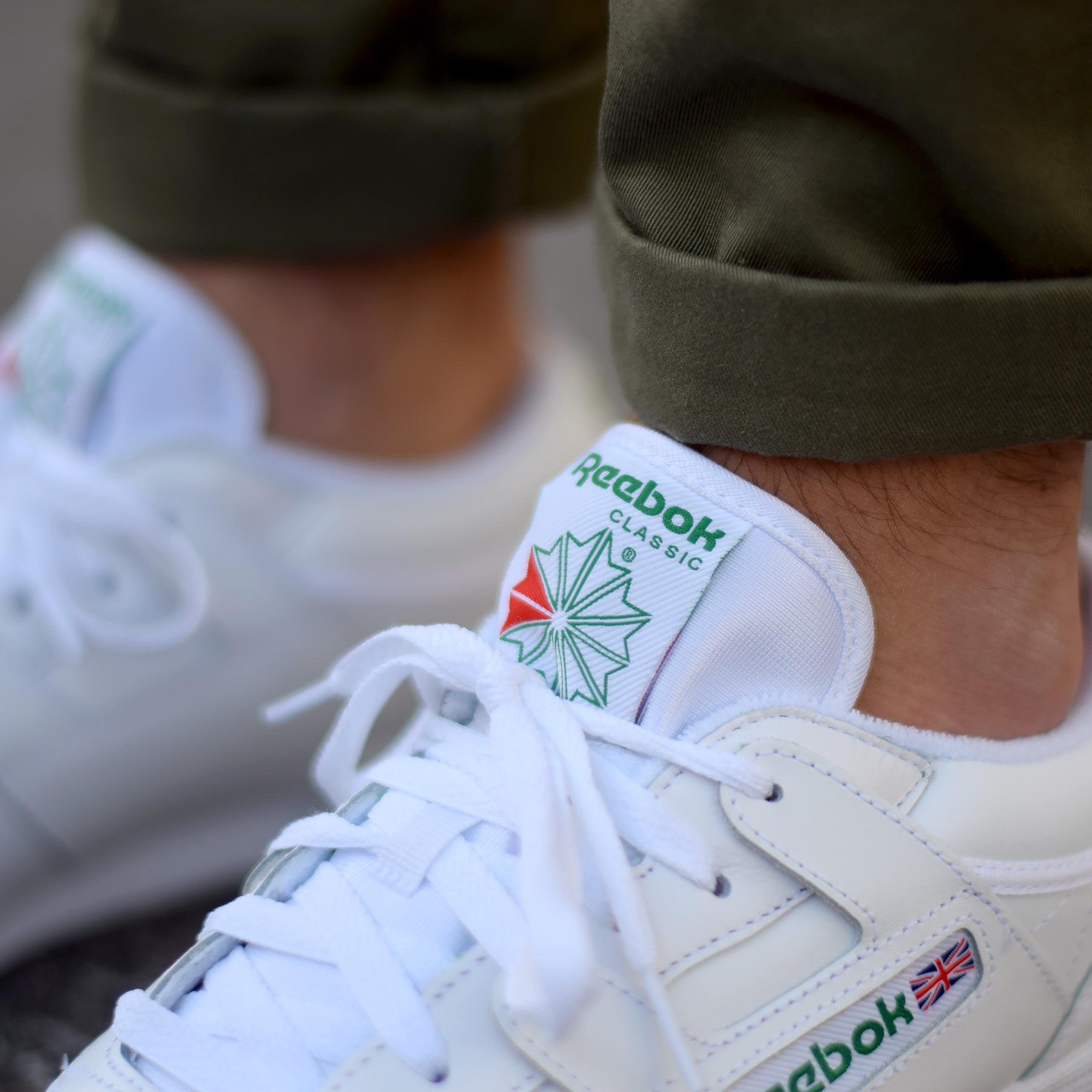 8ee6c1231fe Reebok Club Workout Blanc Vert - Sneakers   Street Culture depuis 2005