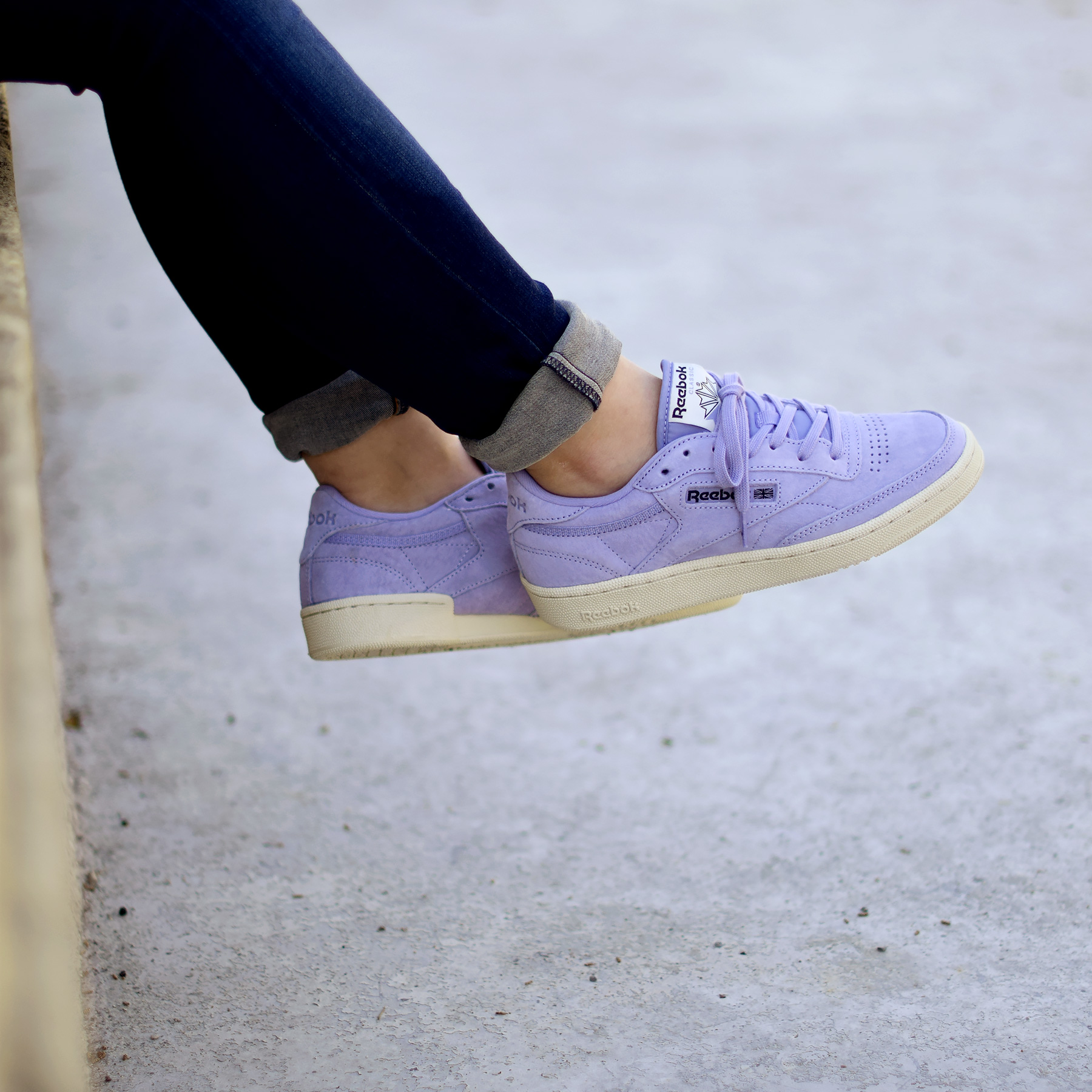 28045a6c5c1 Reebok Club C Pastels Moon Purple - Sneakers.fr