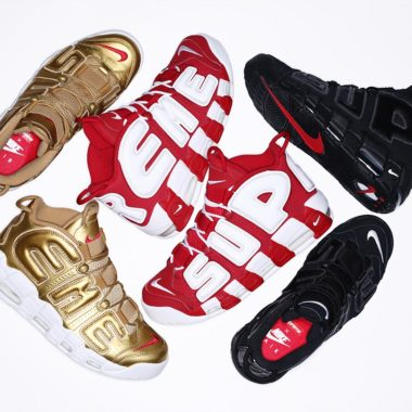 official photos 5066f 8cac0 Nike Air More Uptempo Supreme