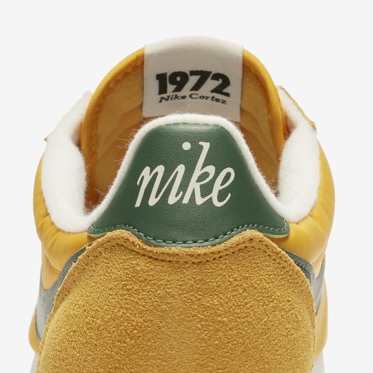 size 40 05c1a 8b508 Cette Nike Cortez Nylon Premium « Oregon » sera disponible à partir du 1er  juin sur SNKRS.COM au tarif de 89€.