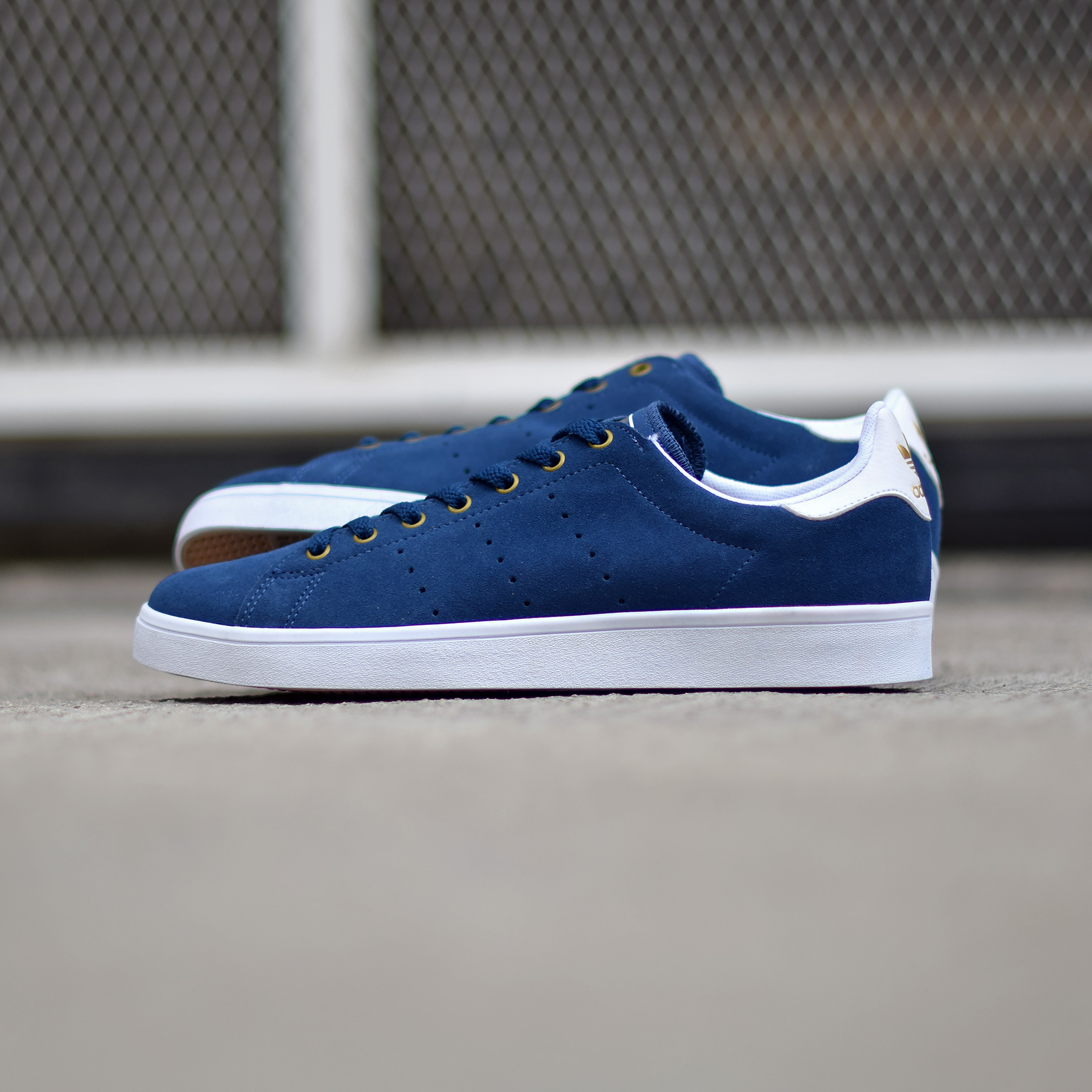 adidas stan smith vulc bleu