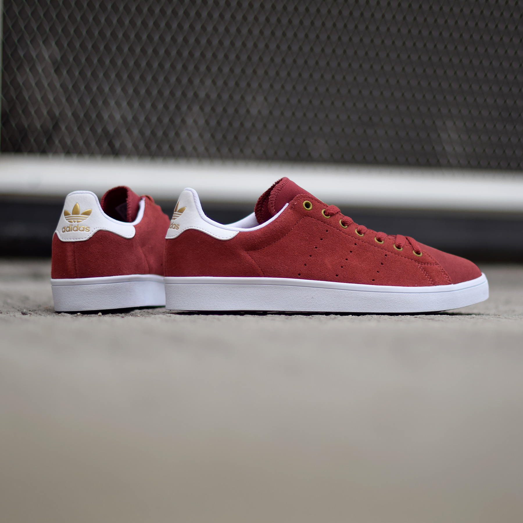 adidas stan smith vulc bordeaux