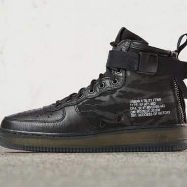 nike sf air force 1 black cargo