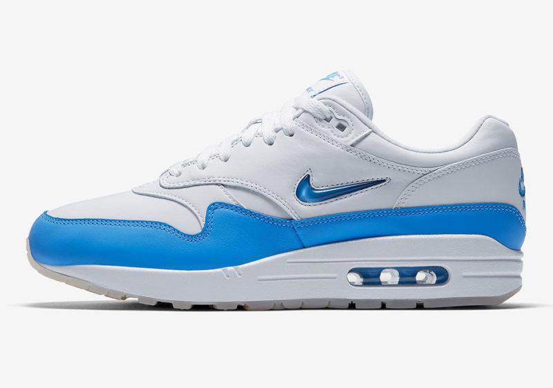 Nike Air Max 1 Sc Jewel University Bleu Chaussuress