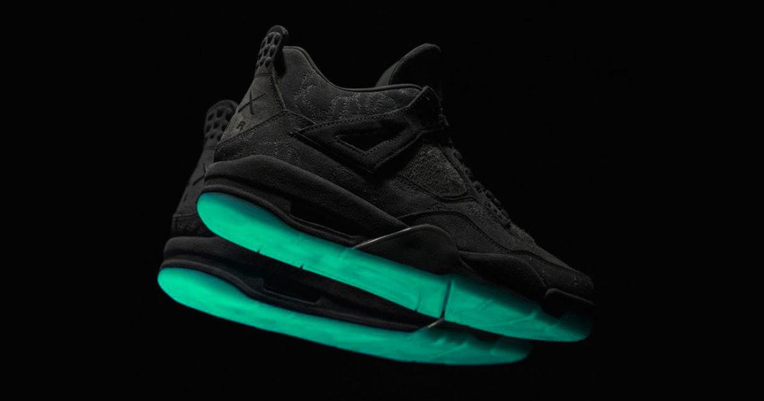 best sneakers 2e4eb 96d3b Un second coloris de l Air Jordan 4 Kaws a été imaginé.