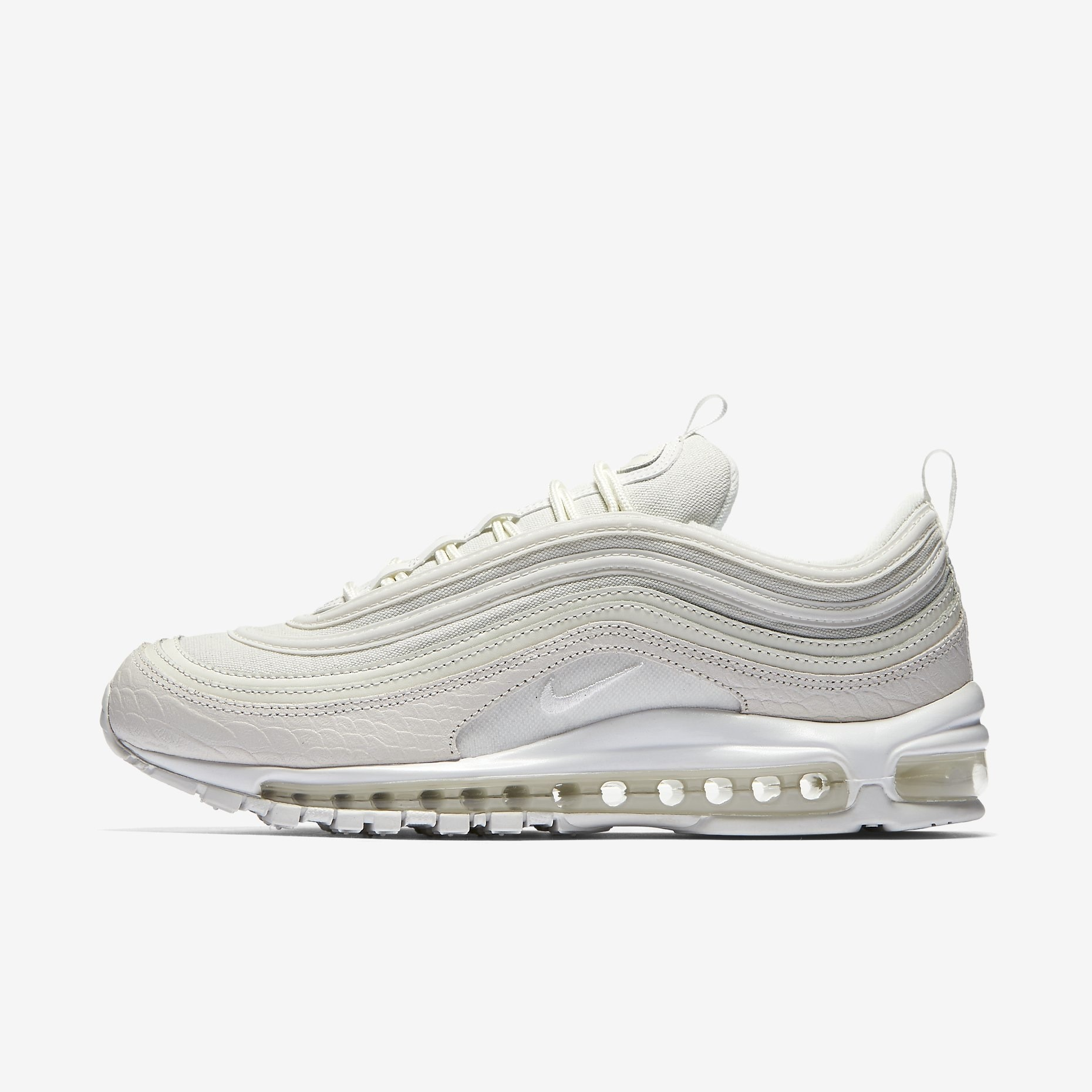 nike air max 97 white snake sneakers. Black Bedroom Furniture Sets. Home Design Ideas
