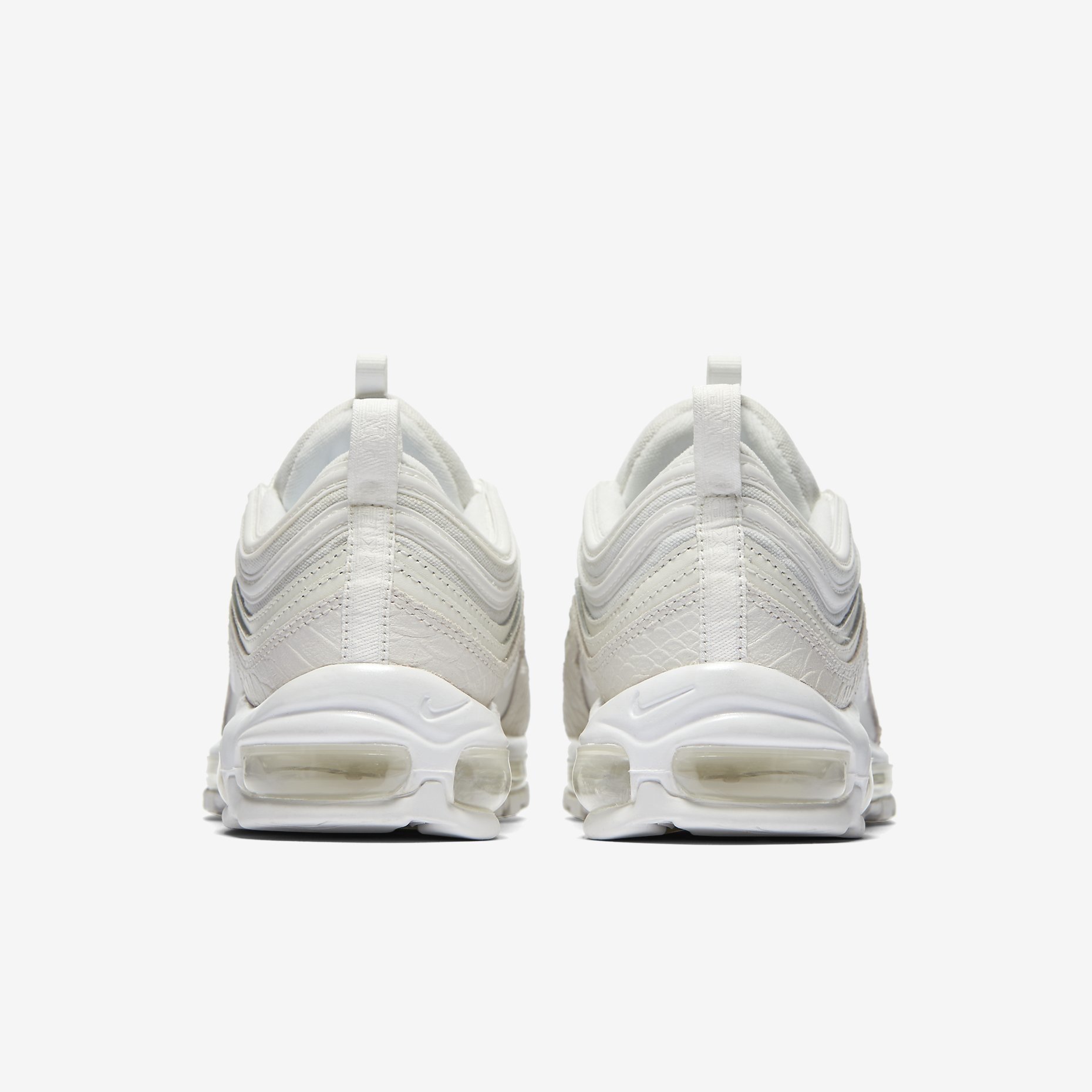 air max 97 blanche snake