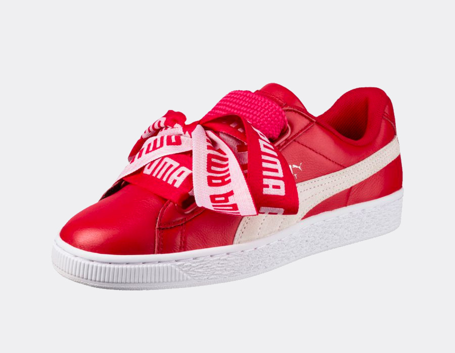 code promo cd0e7 07f32 Une nouvelle version de la Puma Basket Heart
