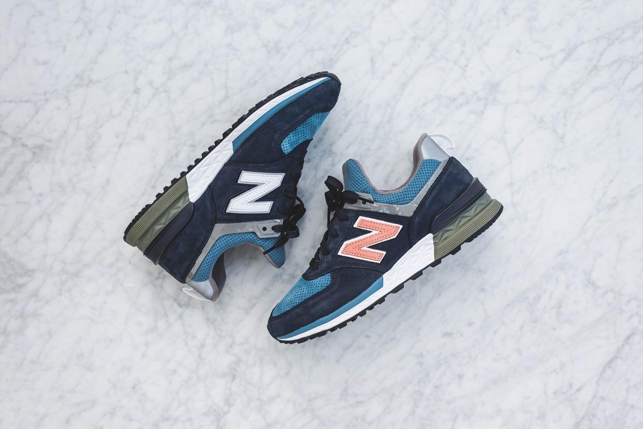 new balance 574s bleu