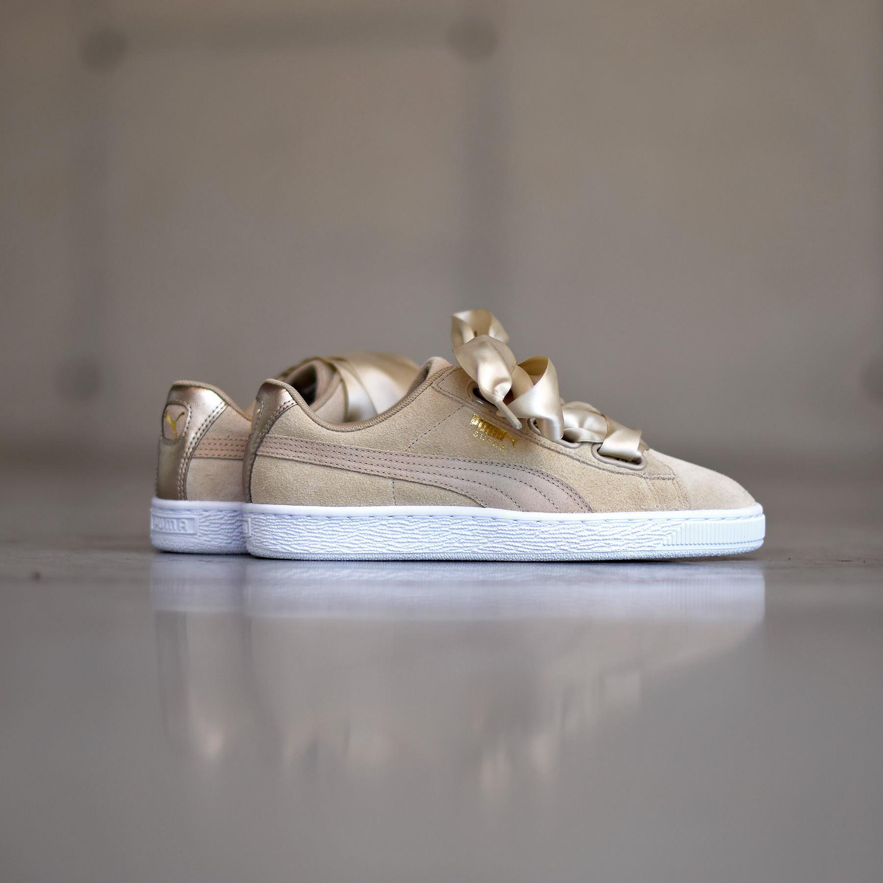 Puma Suede Heart Metallic Pack