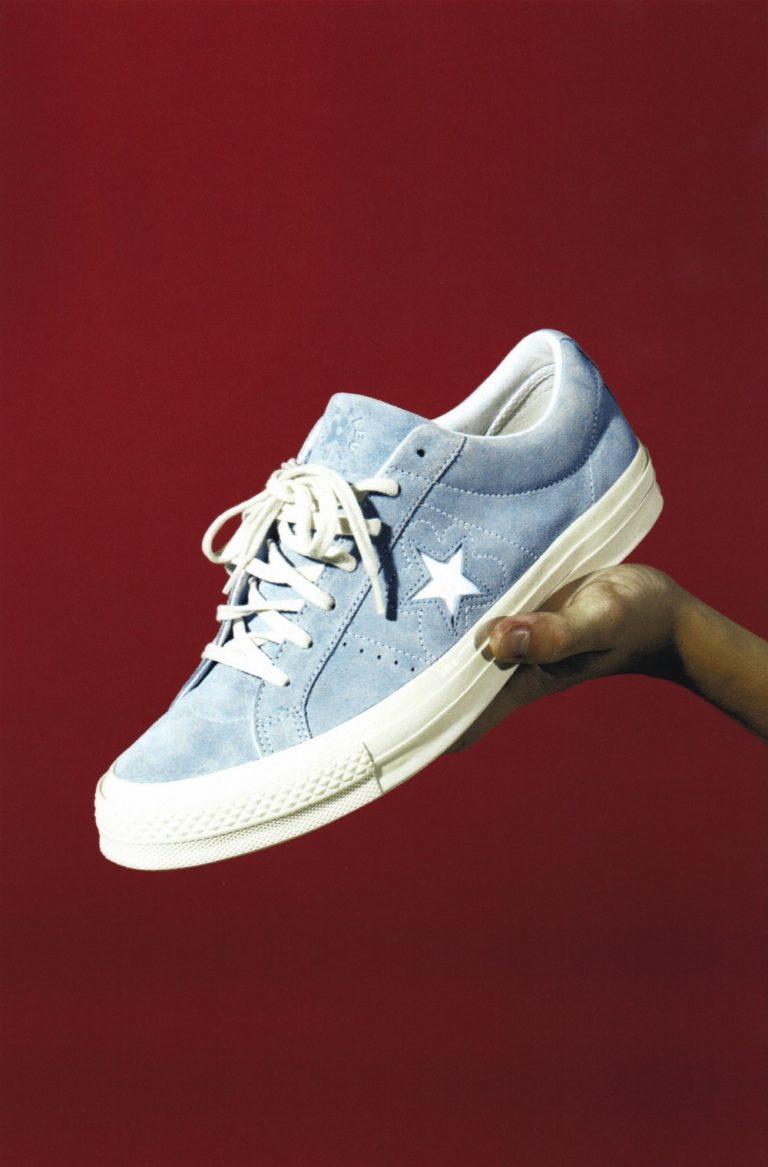 sneakers converse la fleur