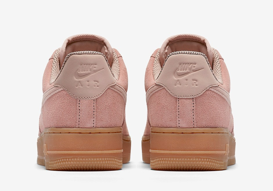 nike air force 1 rose pale