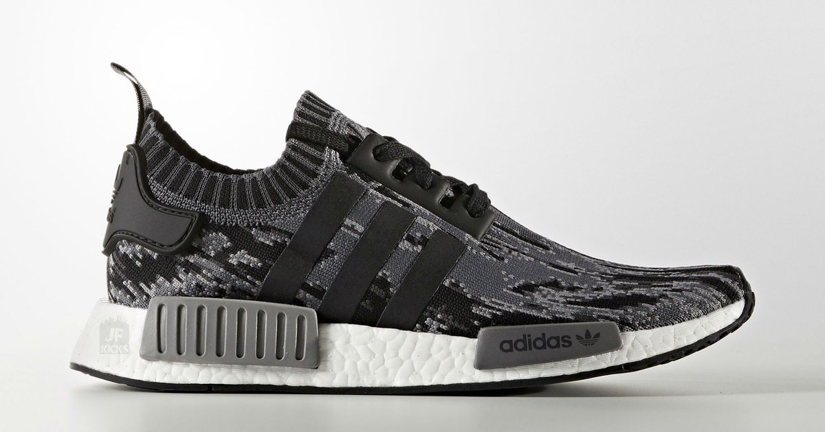 adidas nmd r1 pk black grey camouflage sneakers. Black Bedroom Furniture Sets. Home Design Ideas
