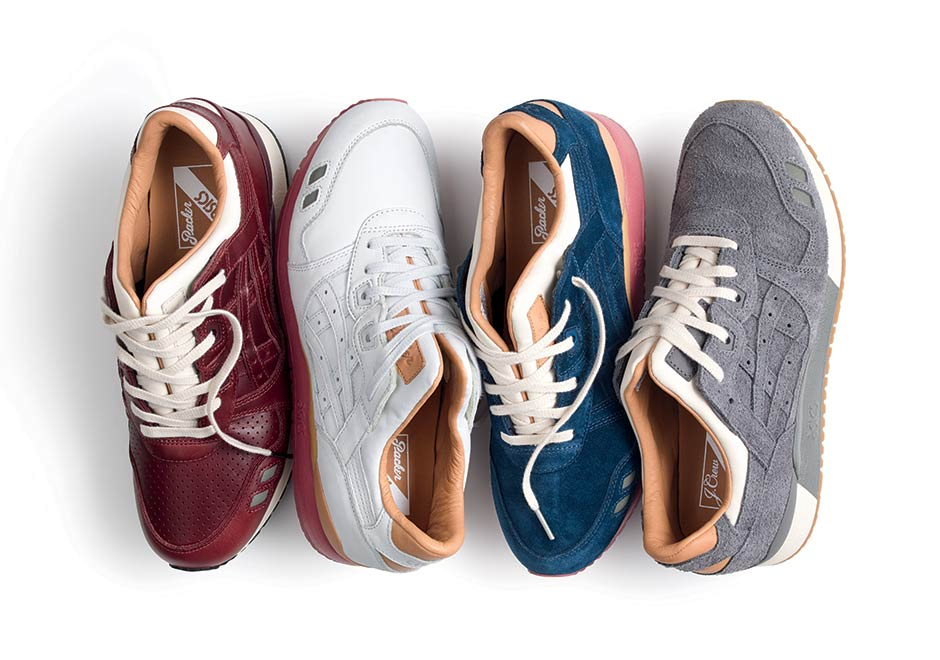 timeless design 02dc3 d1e73 Asics Gel-Lyte III x J. Crew x Packer Shoes « 1907 Collection »