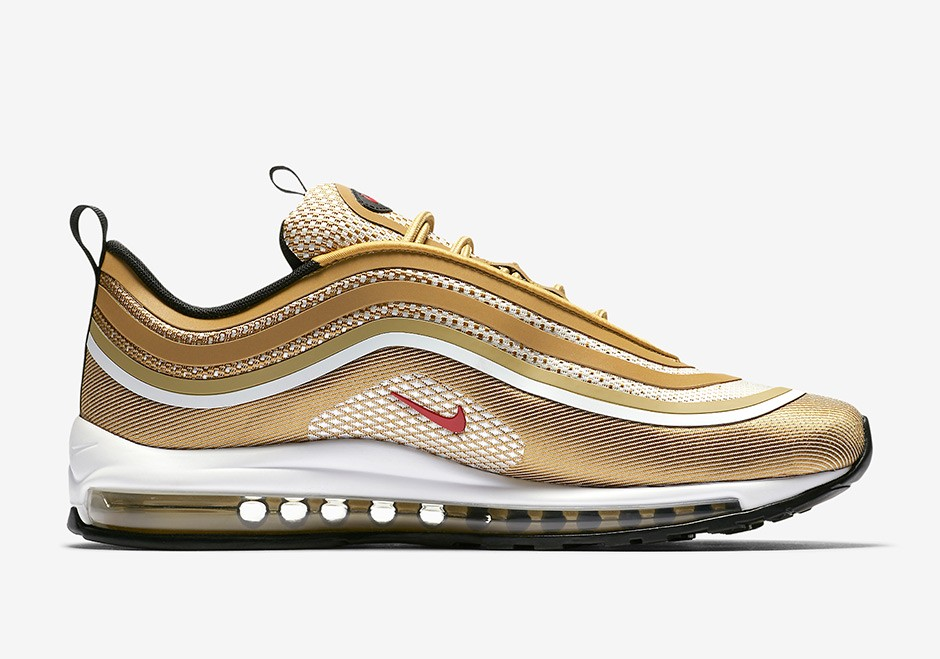 Nike Air Max 97 Ultra Metallic Gold