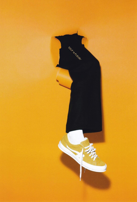 Tyler, The Creator x Converse présente une nouvelle collection commune GOLF  le FLEUR