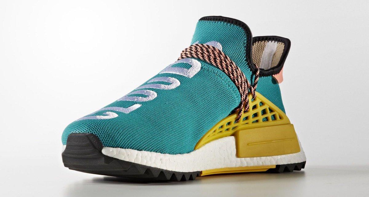 Pharrell x adidas NMD HU Trail Baskets