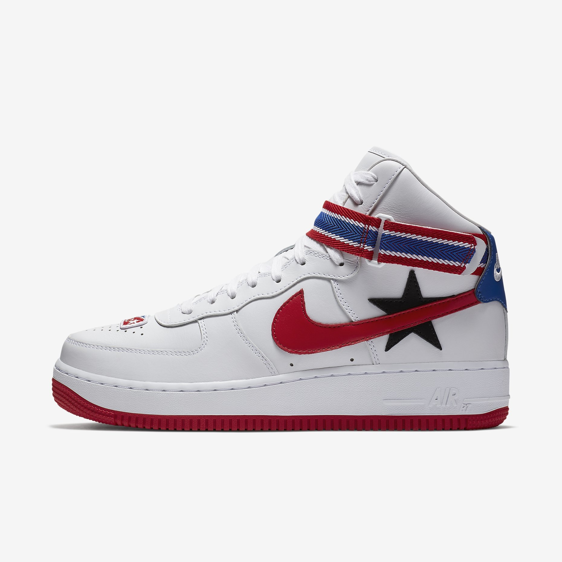 riccardo tisci x nike air force 1 high sneakers. Black Bedroom Furniture Sets. Home Design Ideas