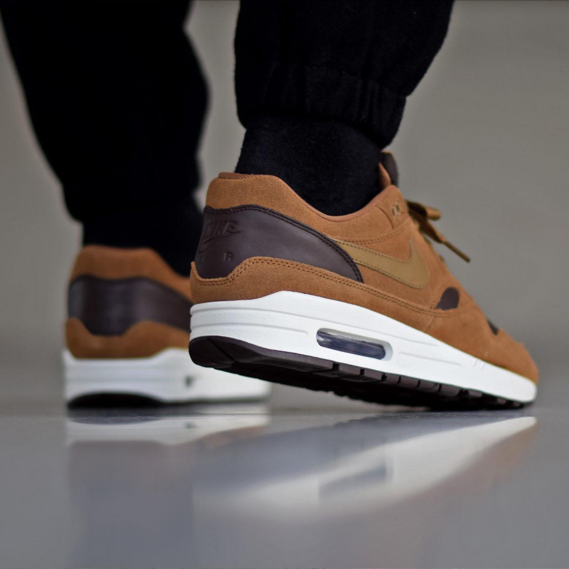 Nike Air Max 1 Premium Leather Ale Brown - Sneakers.fr