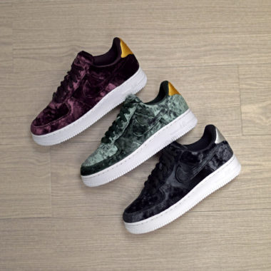 air force 1 femme velour