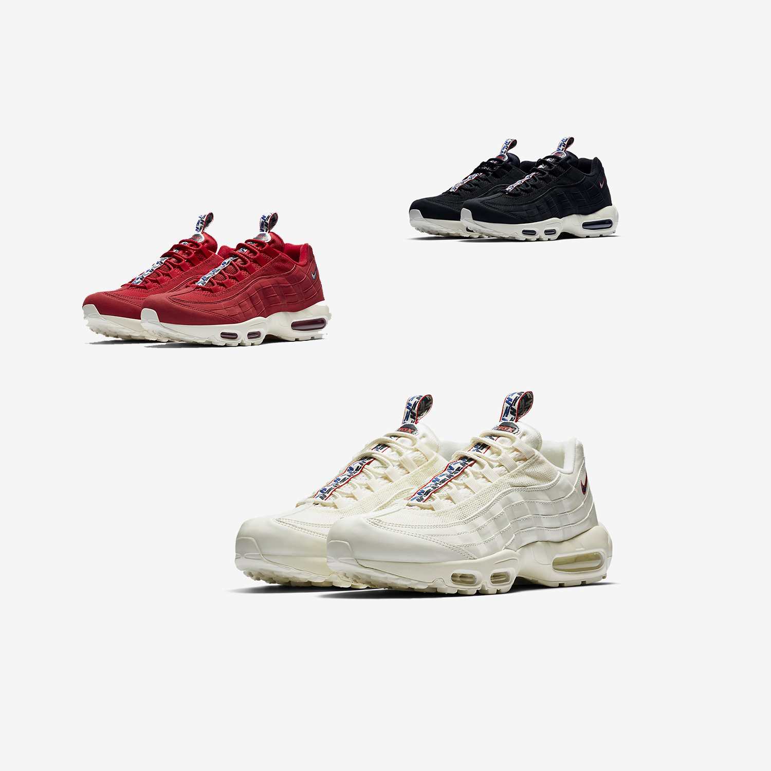 air max 95 languette rouge