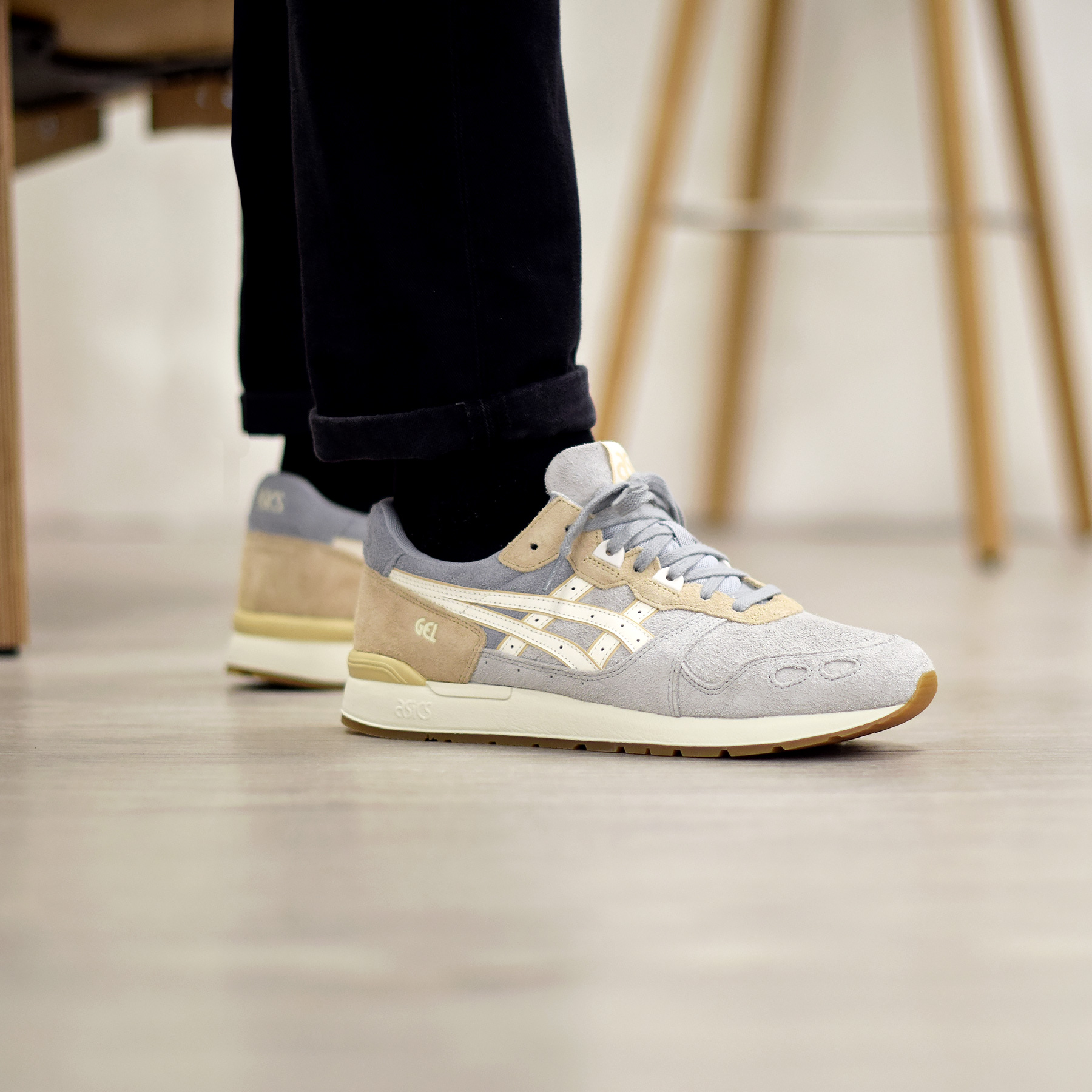design de qualité 134f1 83c77 Asics Gel Lyte Glacier Grey Cream Pack - Sneakers.fr