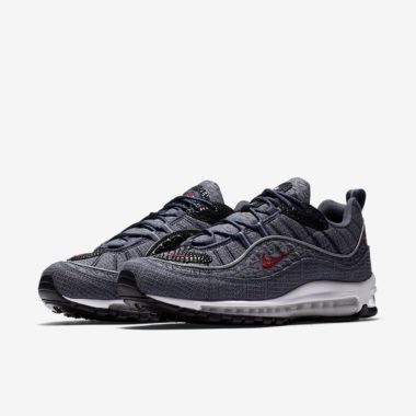 separation shoes c1d4e 51aa2 Nike Air Max 98 QS « Thunder Blue »