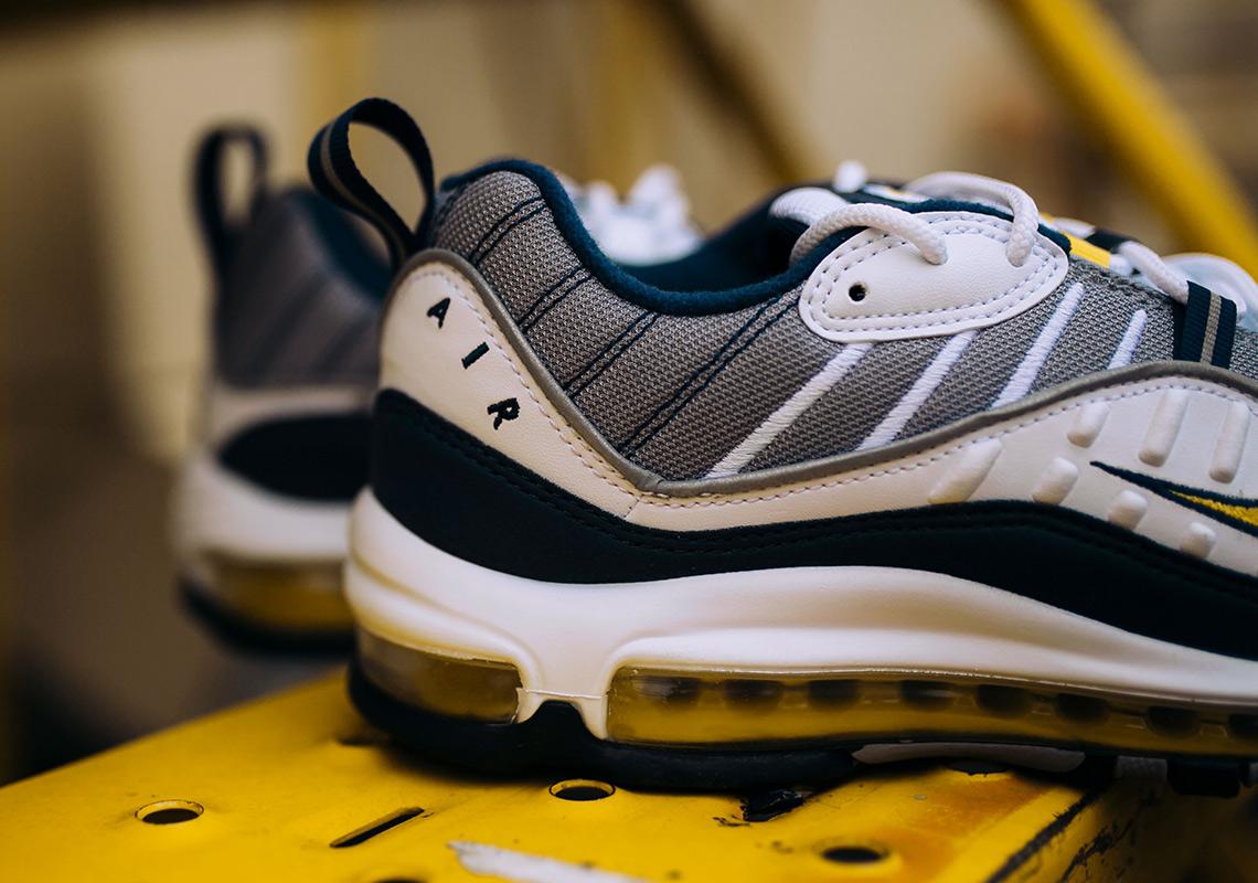 air max 98 jaune