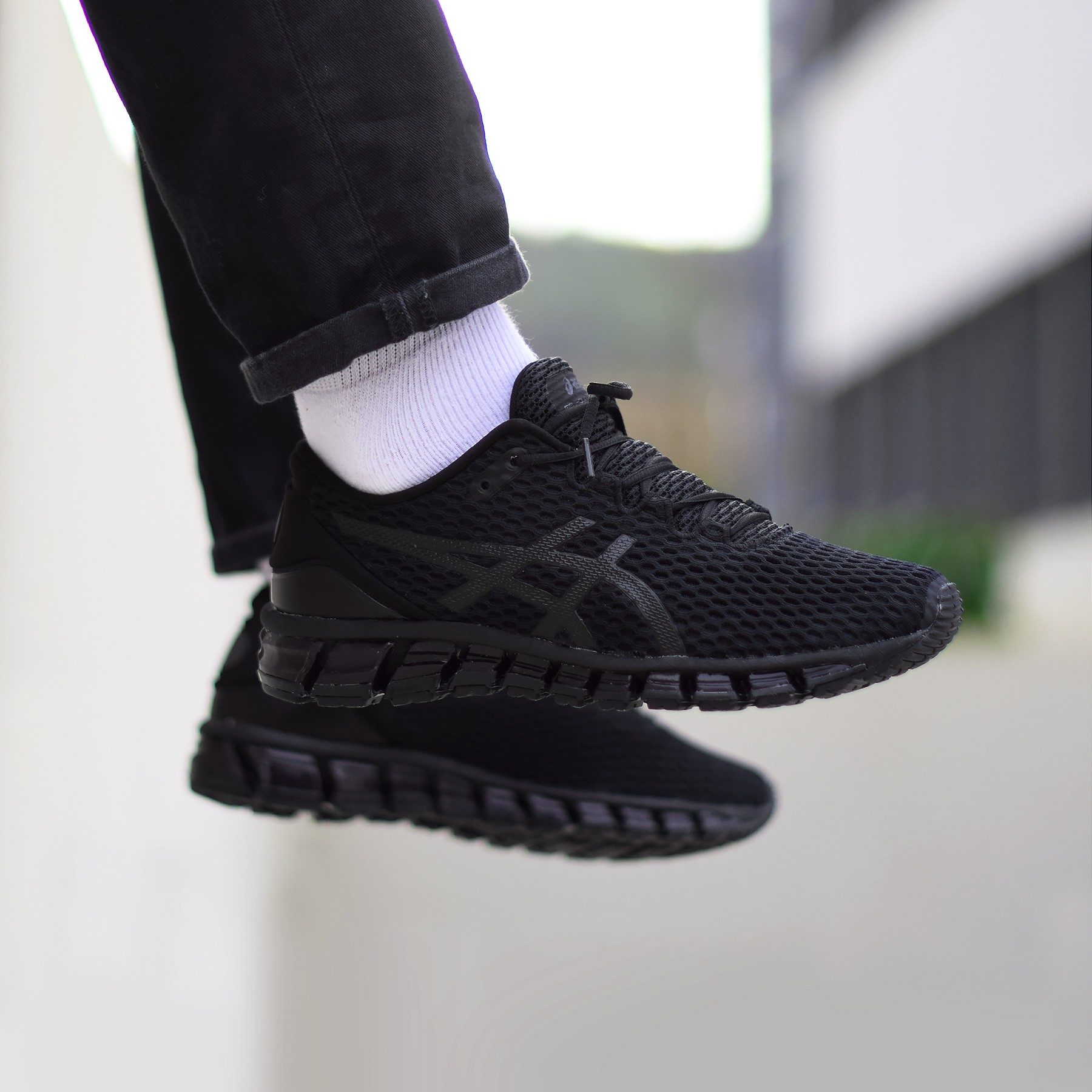 huge selection of 45da2 2473d Asics Gel Quantum 360 Shift - Triple Black - Sneakers.fr