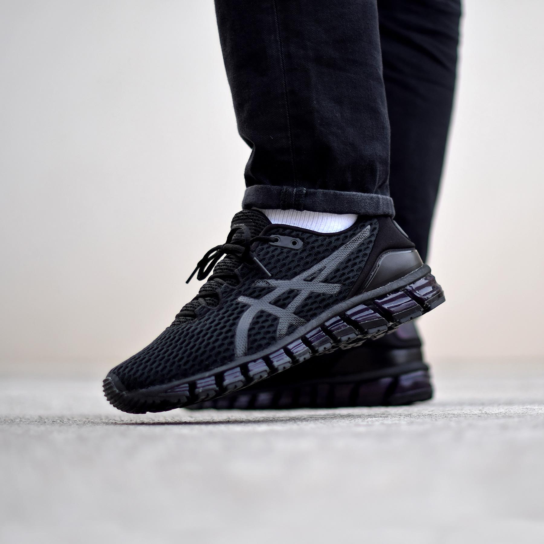 asics gel quantum 360 shift � triple black sneakers