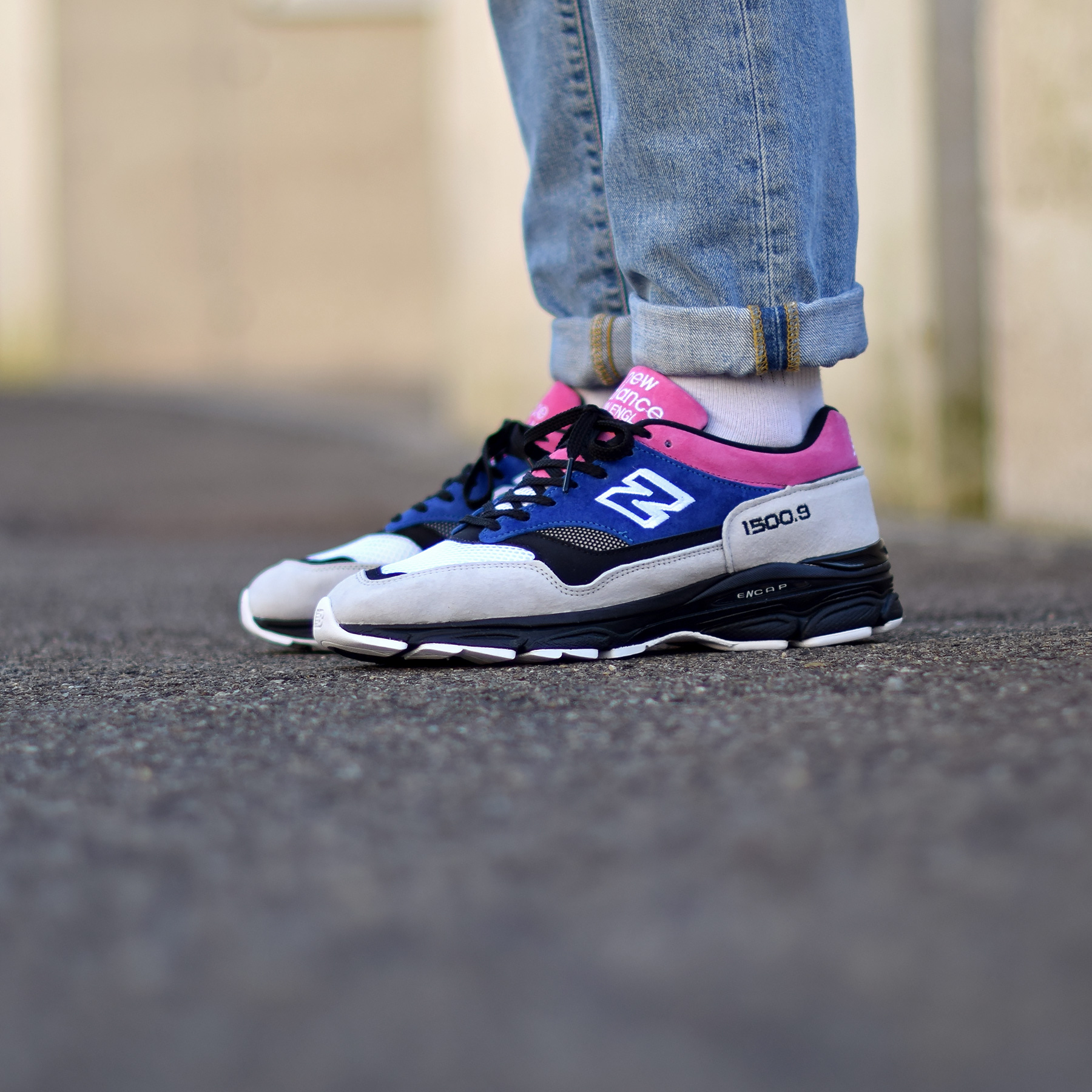 newest 6ac57 39583 New Balance M1500.9 SC Blue Pink - Sneakers.fr