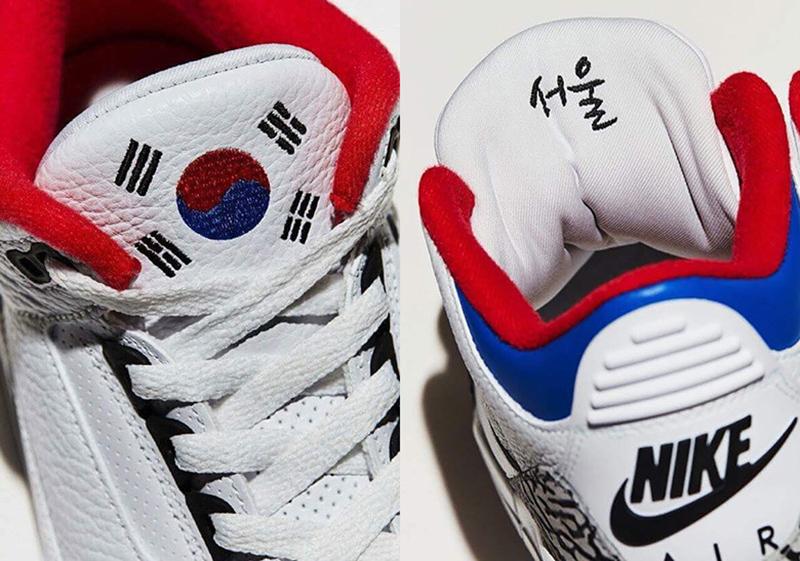 Une édition très limitée de l'Air Jordan III va sortir en exclusivité en  Corée du Sud