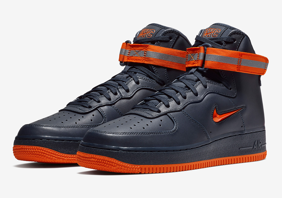 meilleure sélection 551cb fad94 Nike Air Force One « FDNY » Pack