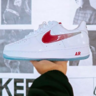 air force 1 velour rouge