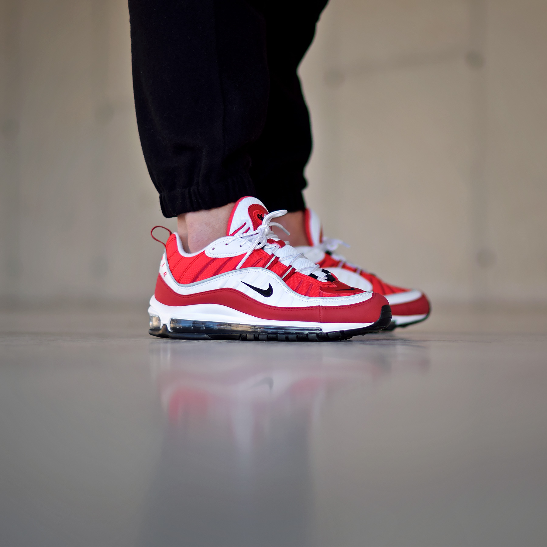 Guide achat] La Nike Air Max 98 Rouge 'Gym Red' (Saint Valentin)
