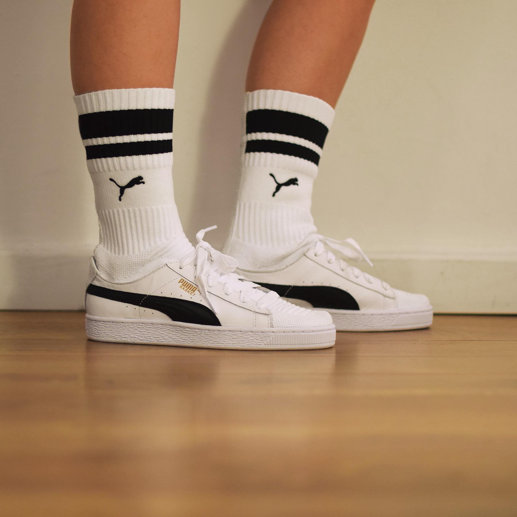 Puma basket chaussette