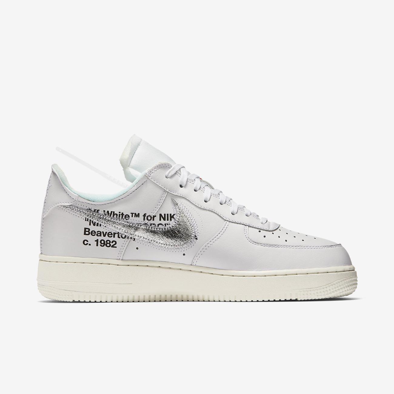 official store factory price wholesale online Off-White x Nike Air Force 1 « ComplexCon » de retour ...