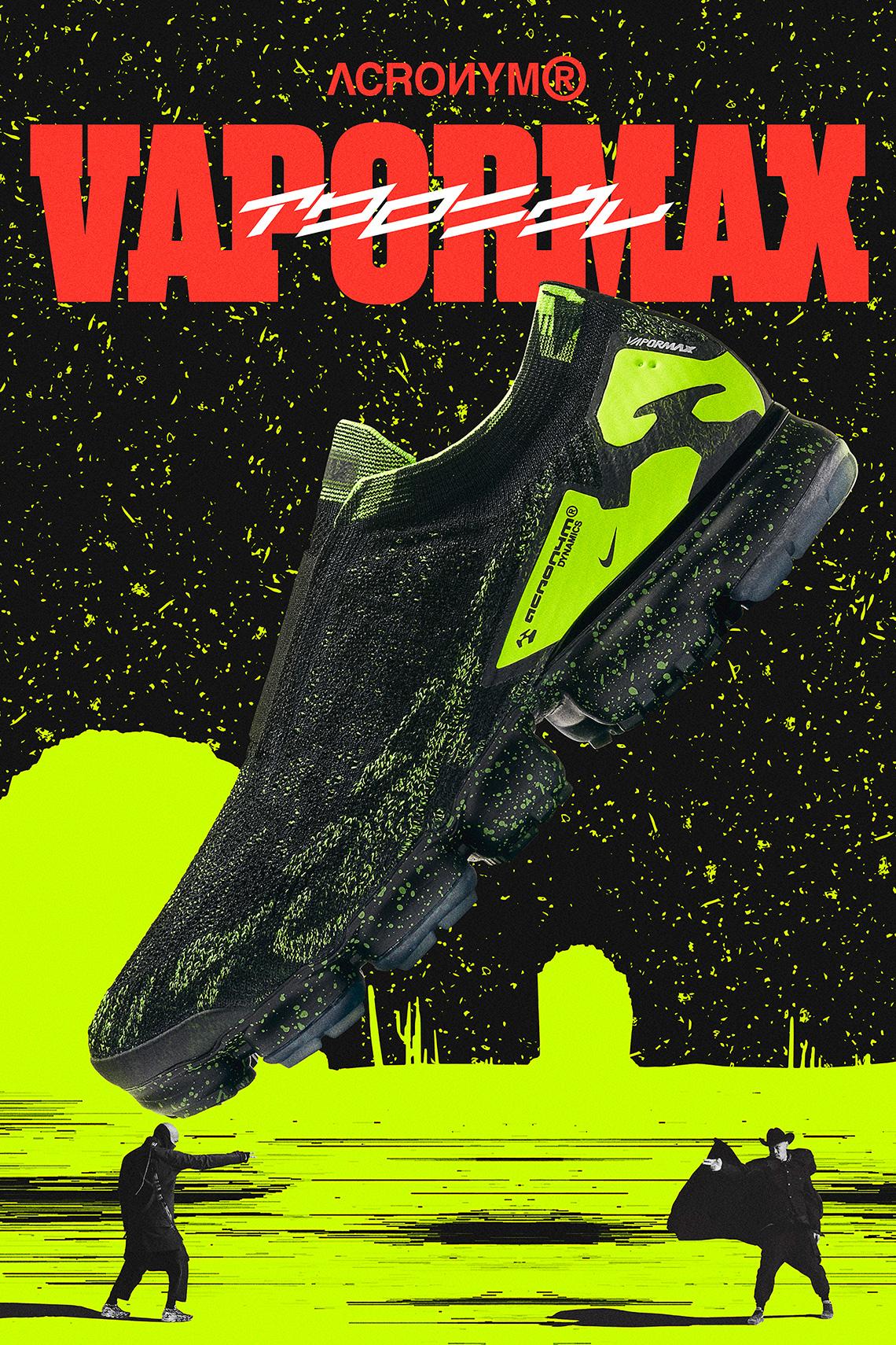 a2b98c7d64fe Ces ACRONYM x Nikelab Vapormax Moc 2 sortent en deux drops distincts. Le  premier coloris Light Bone a été commercialisé le 24 mars tandis que les  deux ...