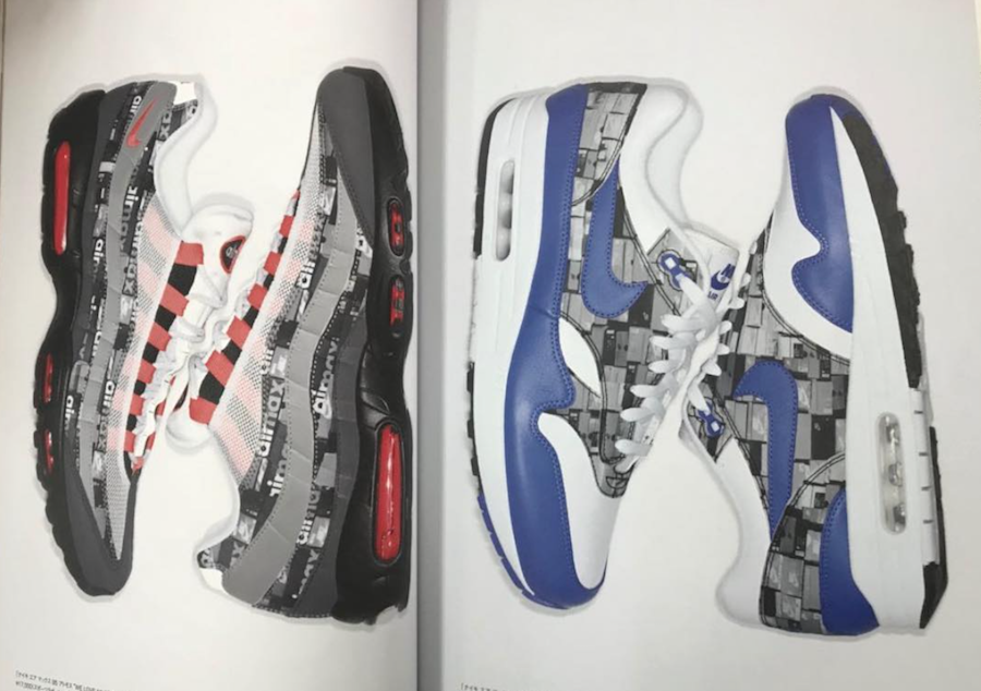 newest 68394 ad608 ... official atmos x nike air max 1 et air max 95 we love nike b7cf7 0383a