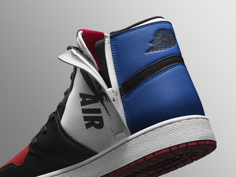 cheap for discount 4c871 dcce5 Cette W Air Jordan 1 Rebel « Top 3 » sera proposée à la vente à partir du  19 mai 2018 au tarif de 145€. Elle sera disponible du 35,5 au 43 sur notre  ...
