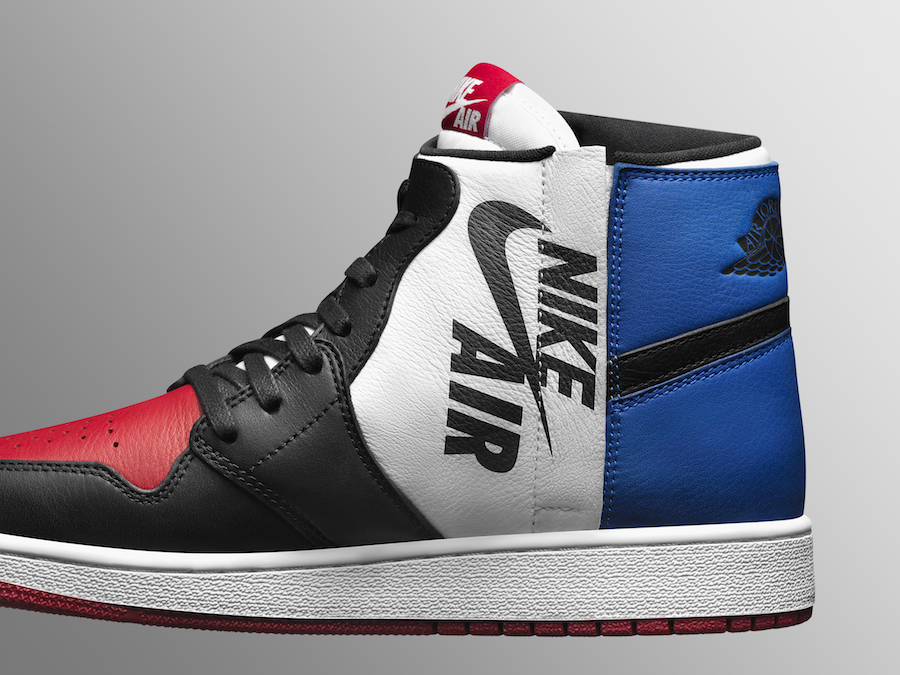 buy online 5c934 0605a Une édition de l Air Jordan 1 Rebel reprend le coloris « Top 3 »