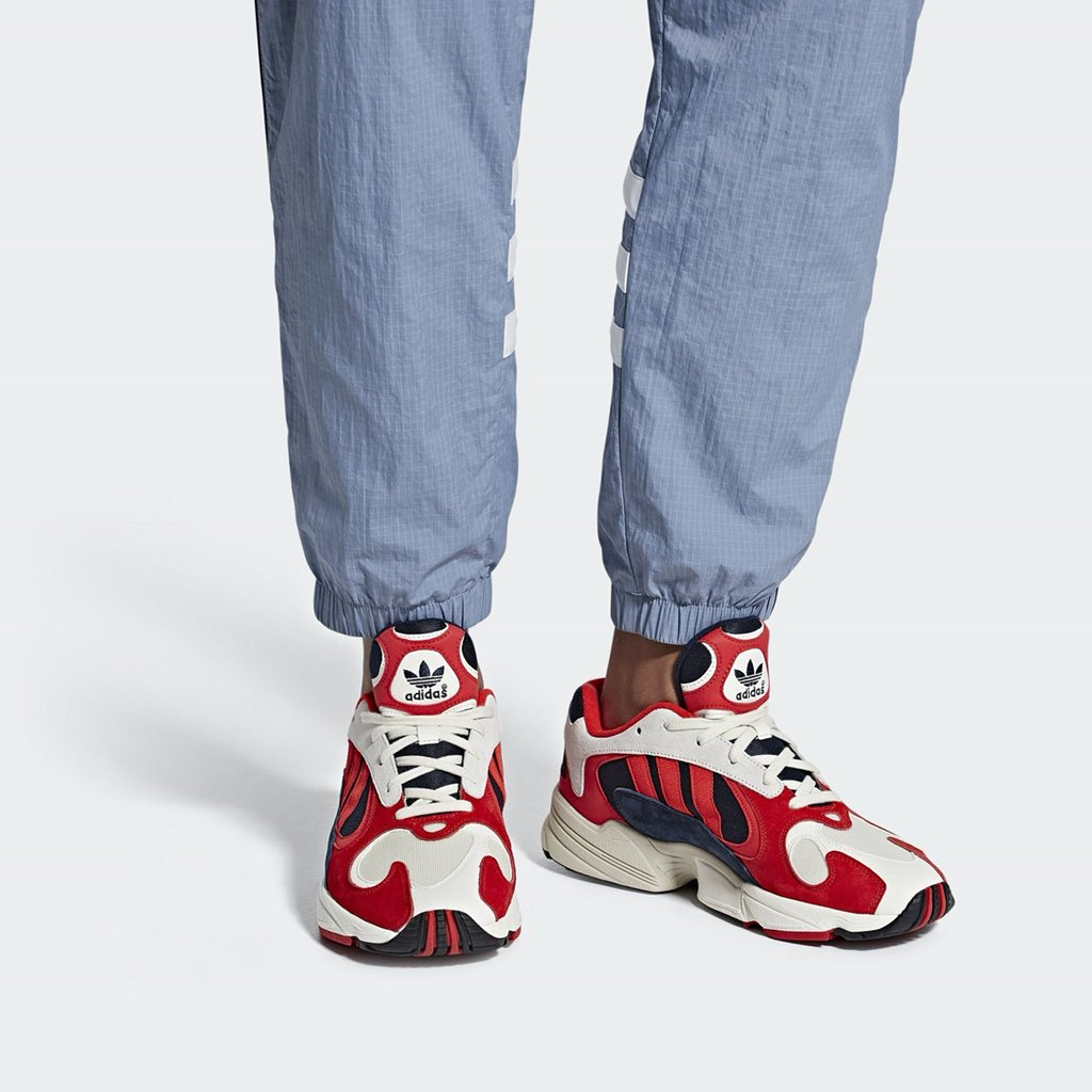 adidas Yung 1 Red Navy pour juin 2018