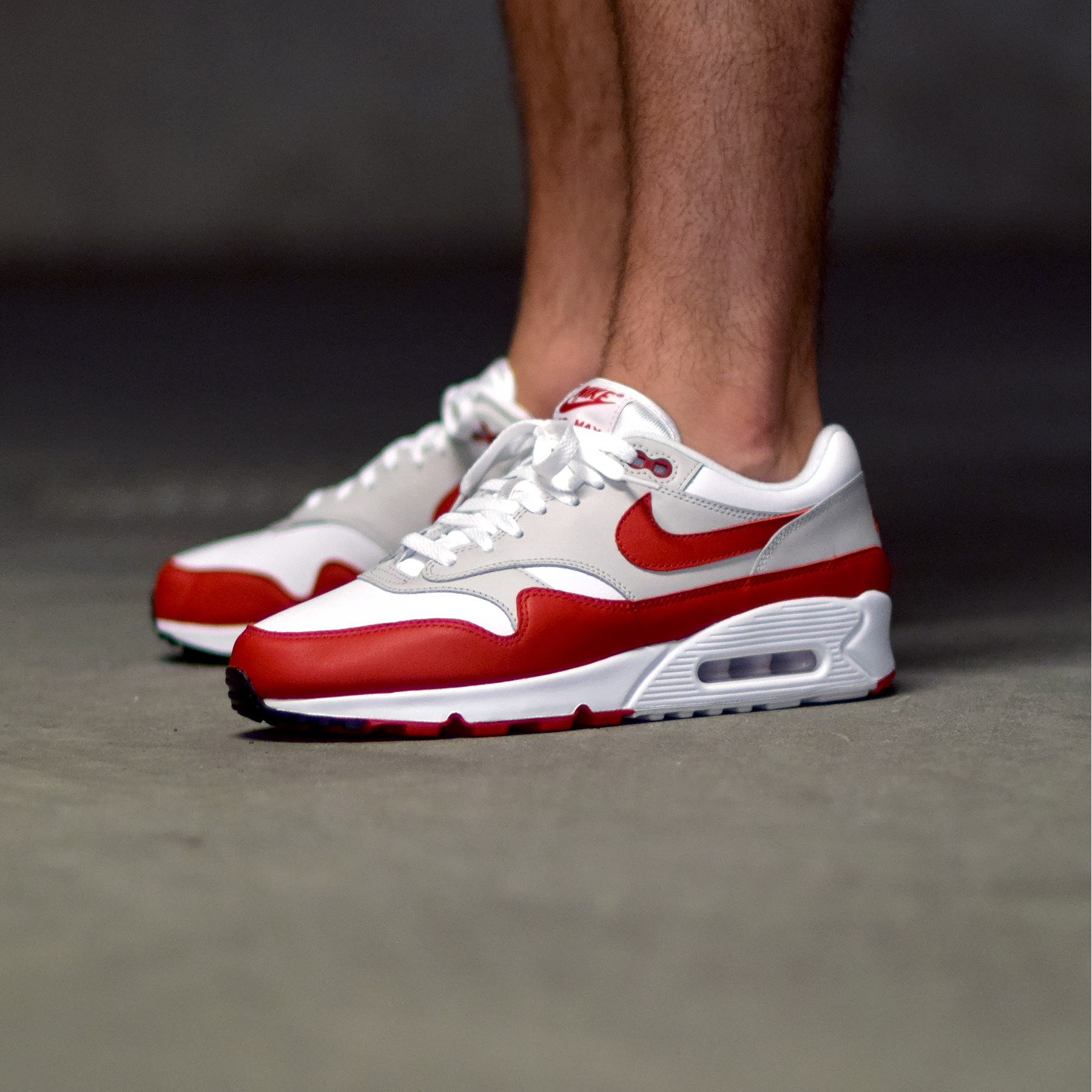get new the best purchase cheap Nike Air Max 90/1 University Red - Sneakers.fr