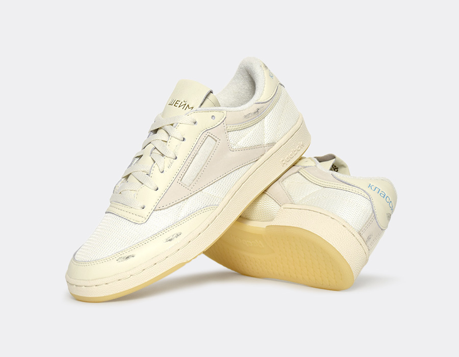 933de0dc7d1 Walk of Shame x Reebok Club C 85 - Sneakers   Street Culture depuis 2005
