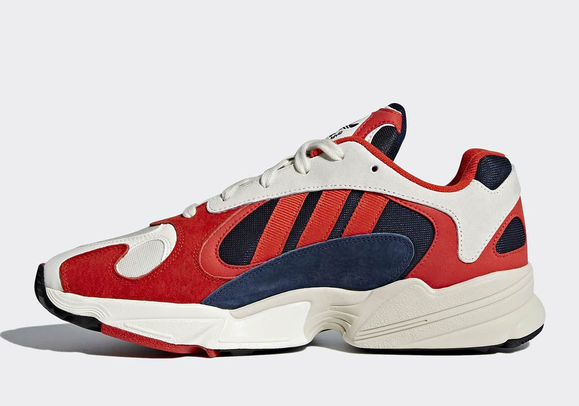 adidas yung 1 rouge bleu