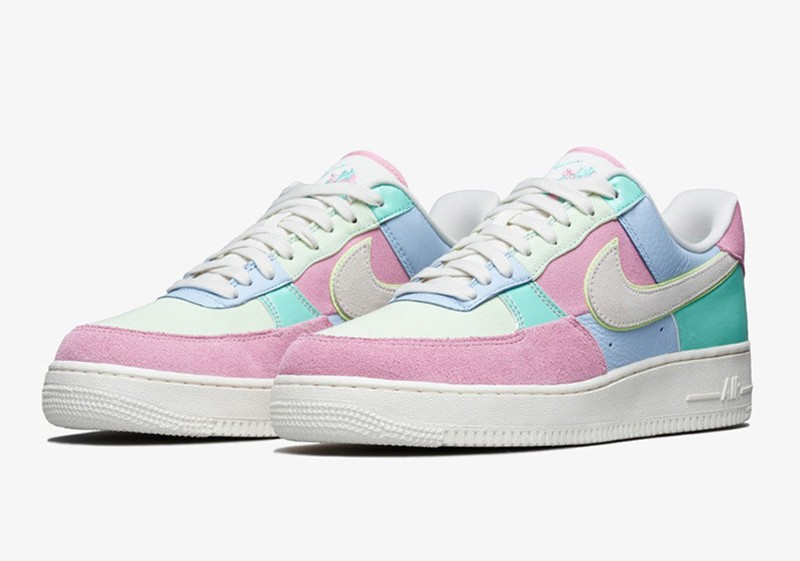 info pour c2ce4 c7ed9 Nike Air Force One Low « Easter » - Sneakers.fr