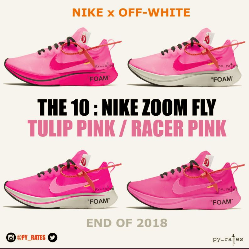 e1be9f0859d3 Off-White x Nike Zoom Fly SP 2018