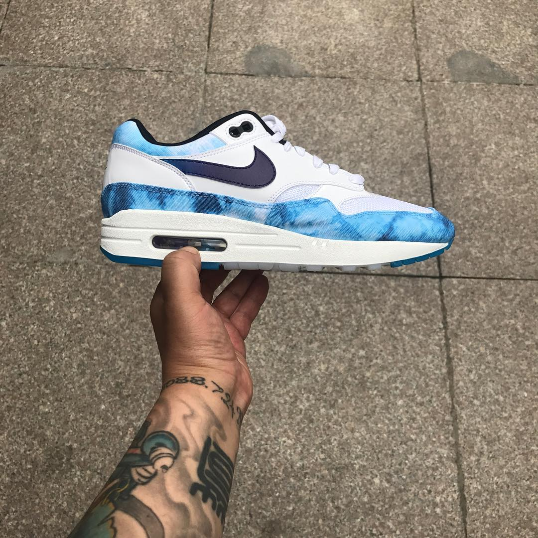 Nike N7 Air Max 1 Acid Wash