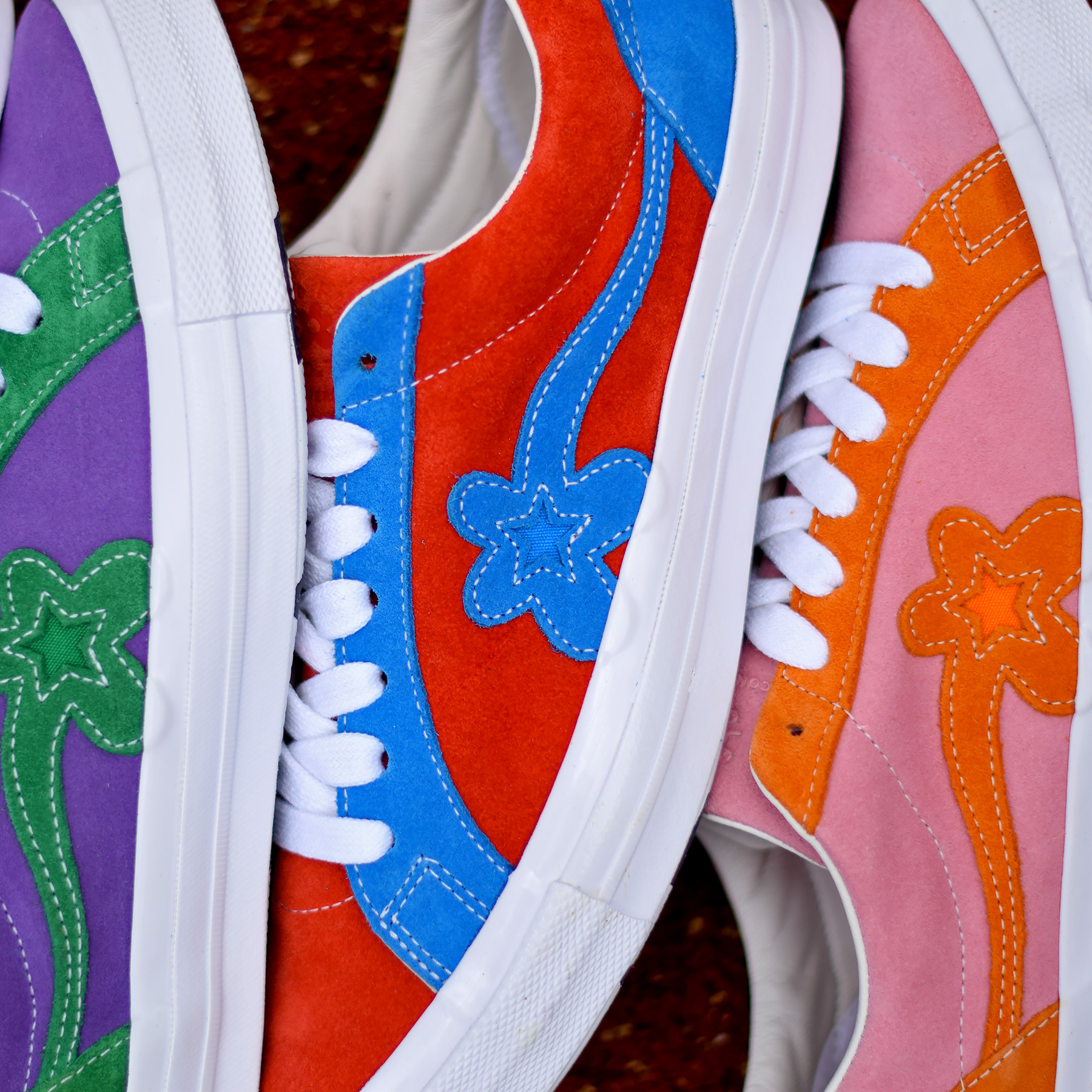 Tyler The Creator X Converse One Star Sneakers